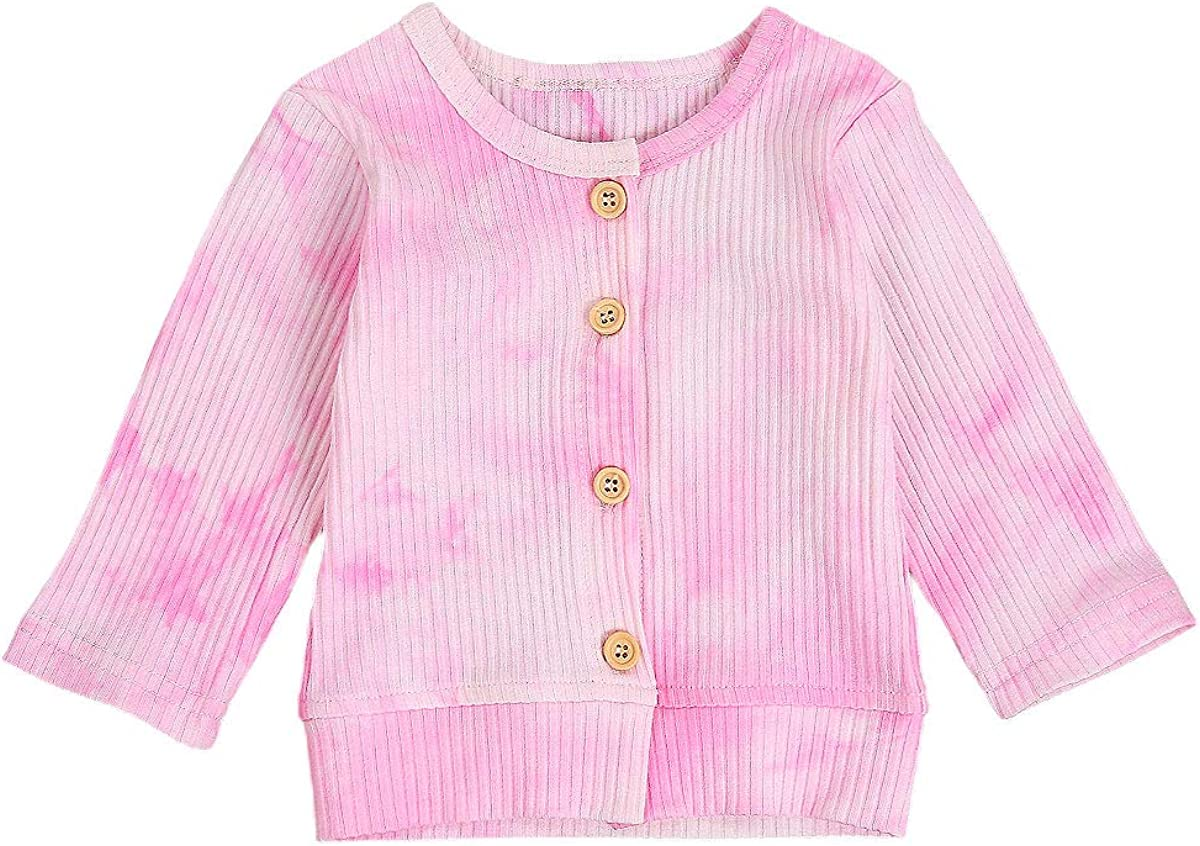 Unisex Baby Clothes Toddler Place Newborn Baby Boys Girls Knit Cardigan Sweater Infant Button-Down Cotton Sweater