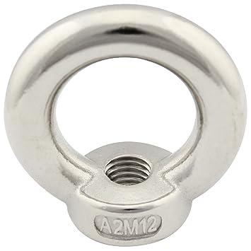 - /ähnl gegossen und poliert - /Ösenmuttern SC582 DIN 582 SC-Normteile/® - M16 - V2A Ringmuttern 5 St/ück aus rostfreiem Edelstahl A2
