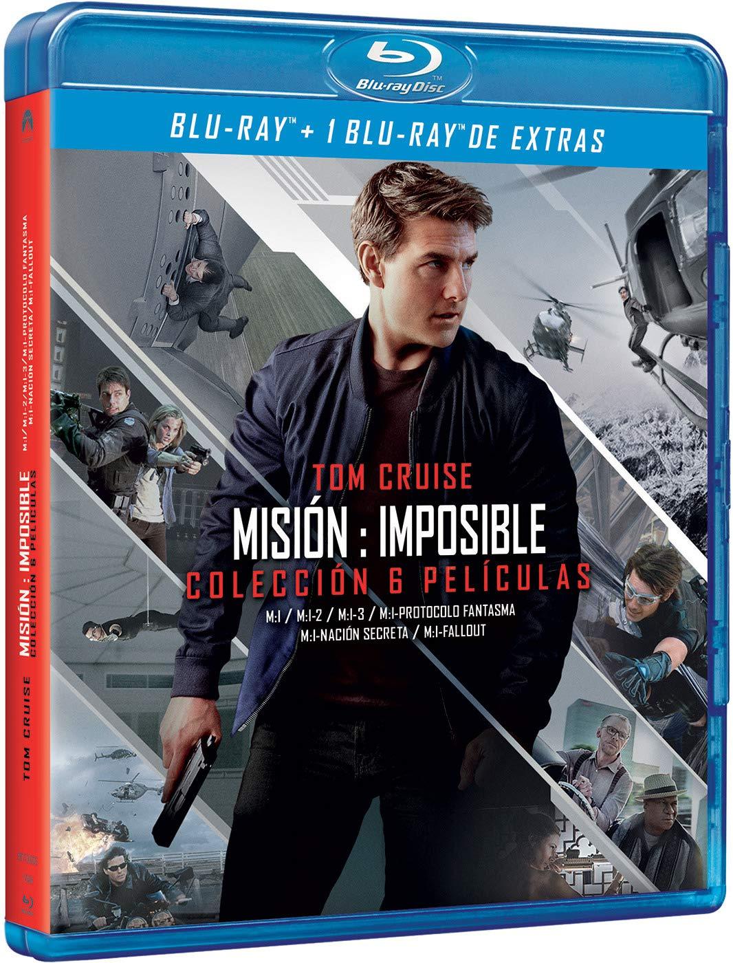 Pack: Misión Imposible - Temporadas 1-6 BD + BD Extras Blu-ray ...