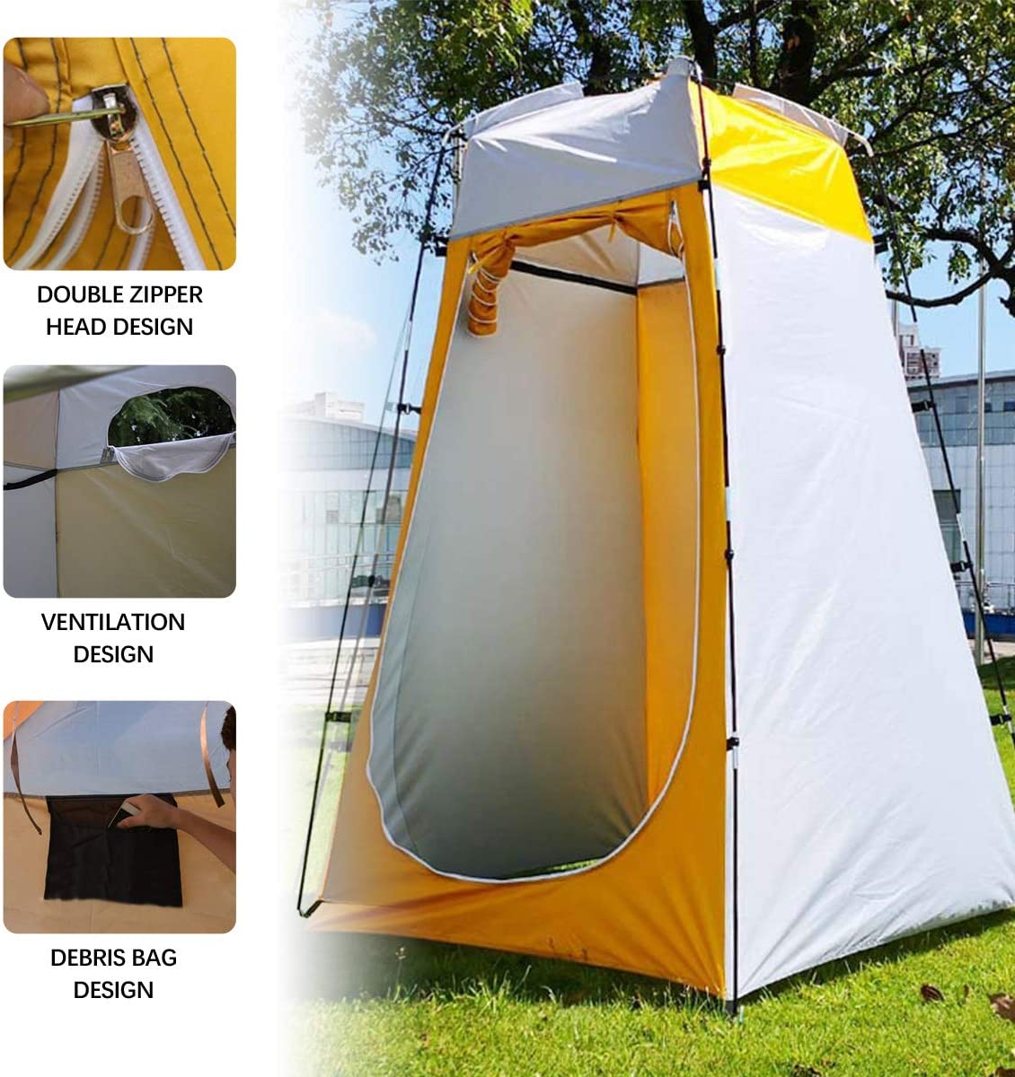 Qdreclod Outdoor Privacy Tent Draagbare Douche Tent Dressing