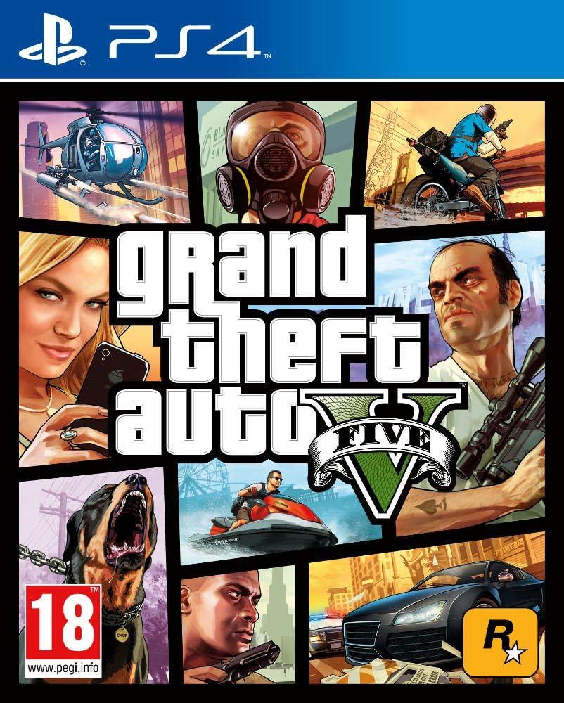 Grand Theft Auto V (GTA V) (PS4), Modelo antiguo
