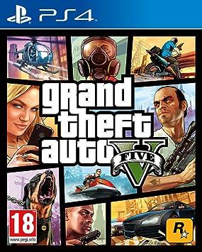 Grand Theft Auto V Gta V Ps4 Modelo Antiguo Playstation 4