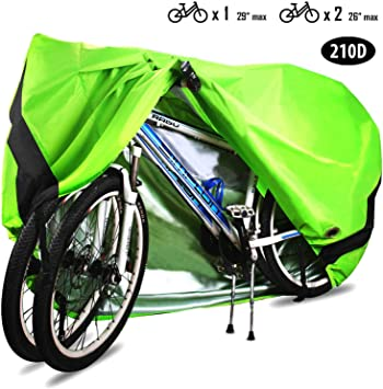 Heavy Duty Waterproof Bicycle Cover Mountain Bike Rain//Snow//Dust UV Protector US