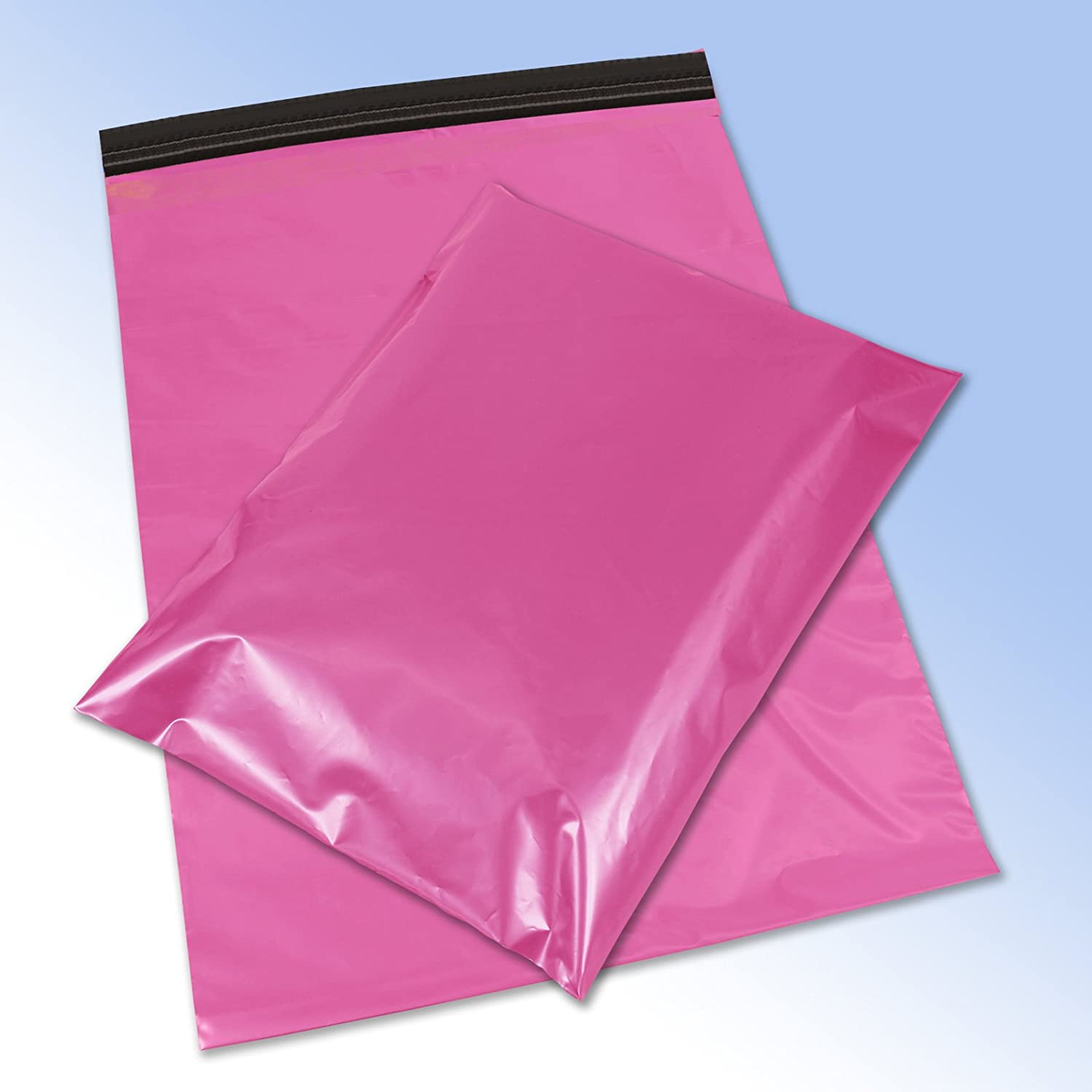50 Pink Plastic Mailing Mail Post Postage Bags 10 x 14