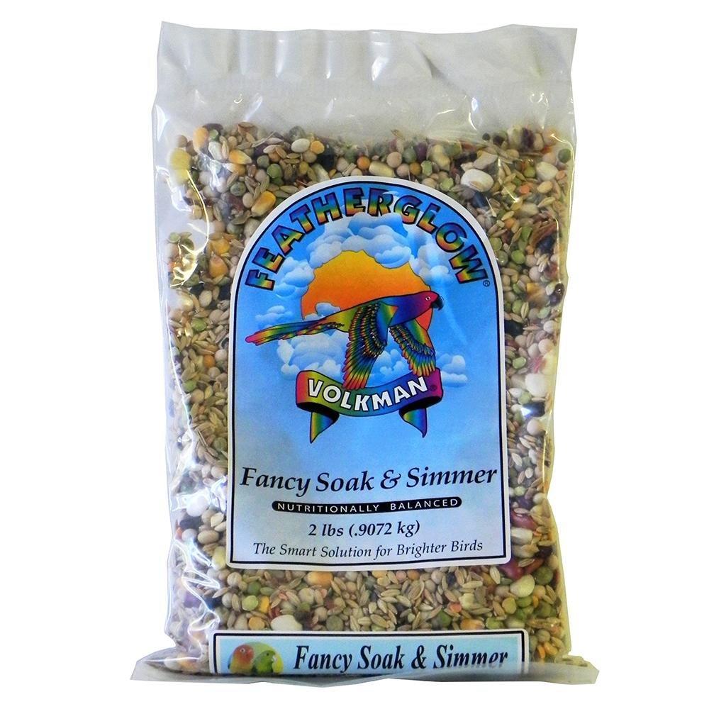 Featherglow Fancy Soak and Simmer Bird Food 2Lb. 3 Pack by Avian Science
