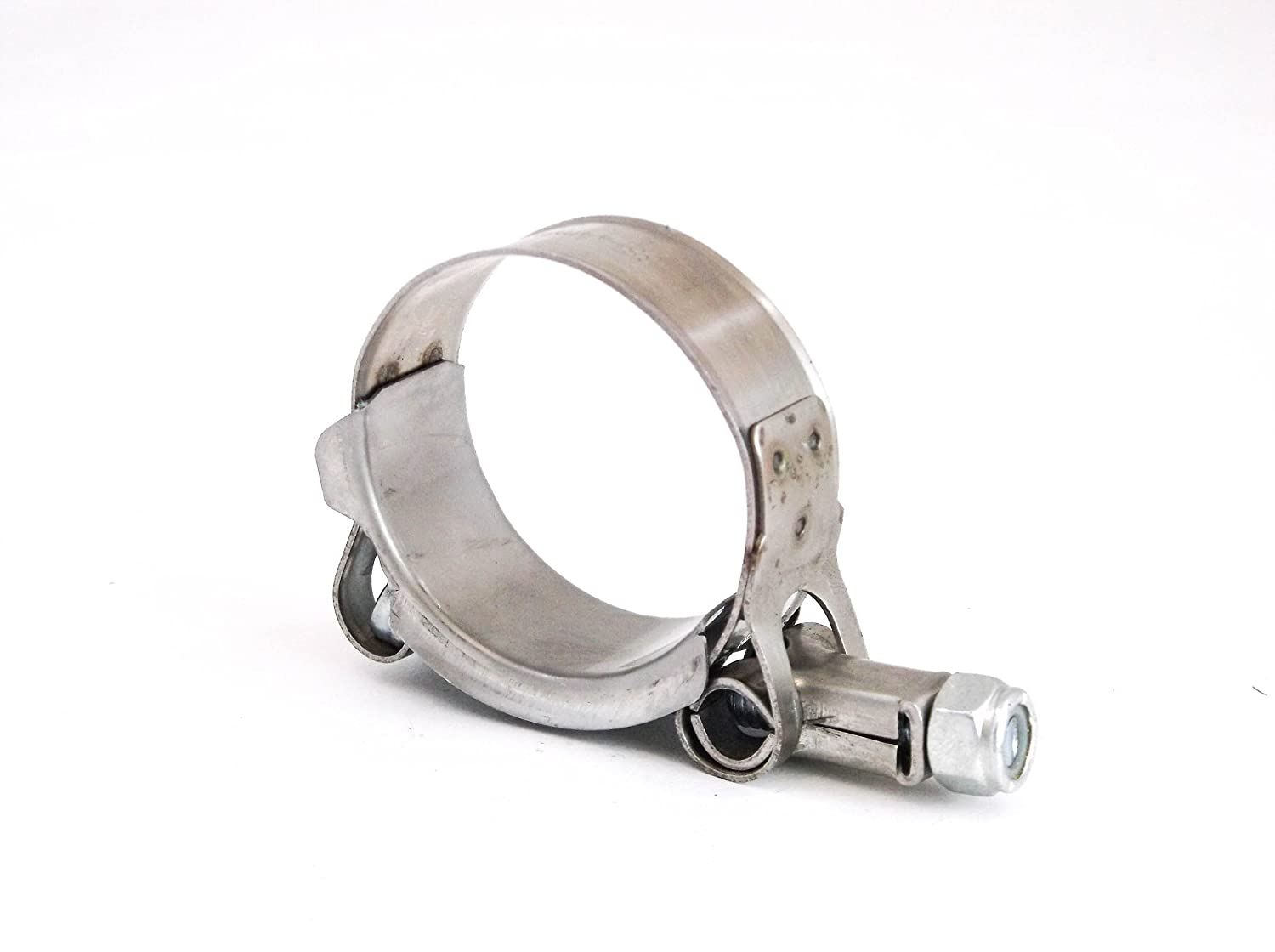 Premium 304 Stainless Steel T-Bolt Turbo Silicone Hose Clamp 1.5 38-44mm Red Hound Auto