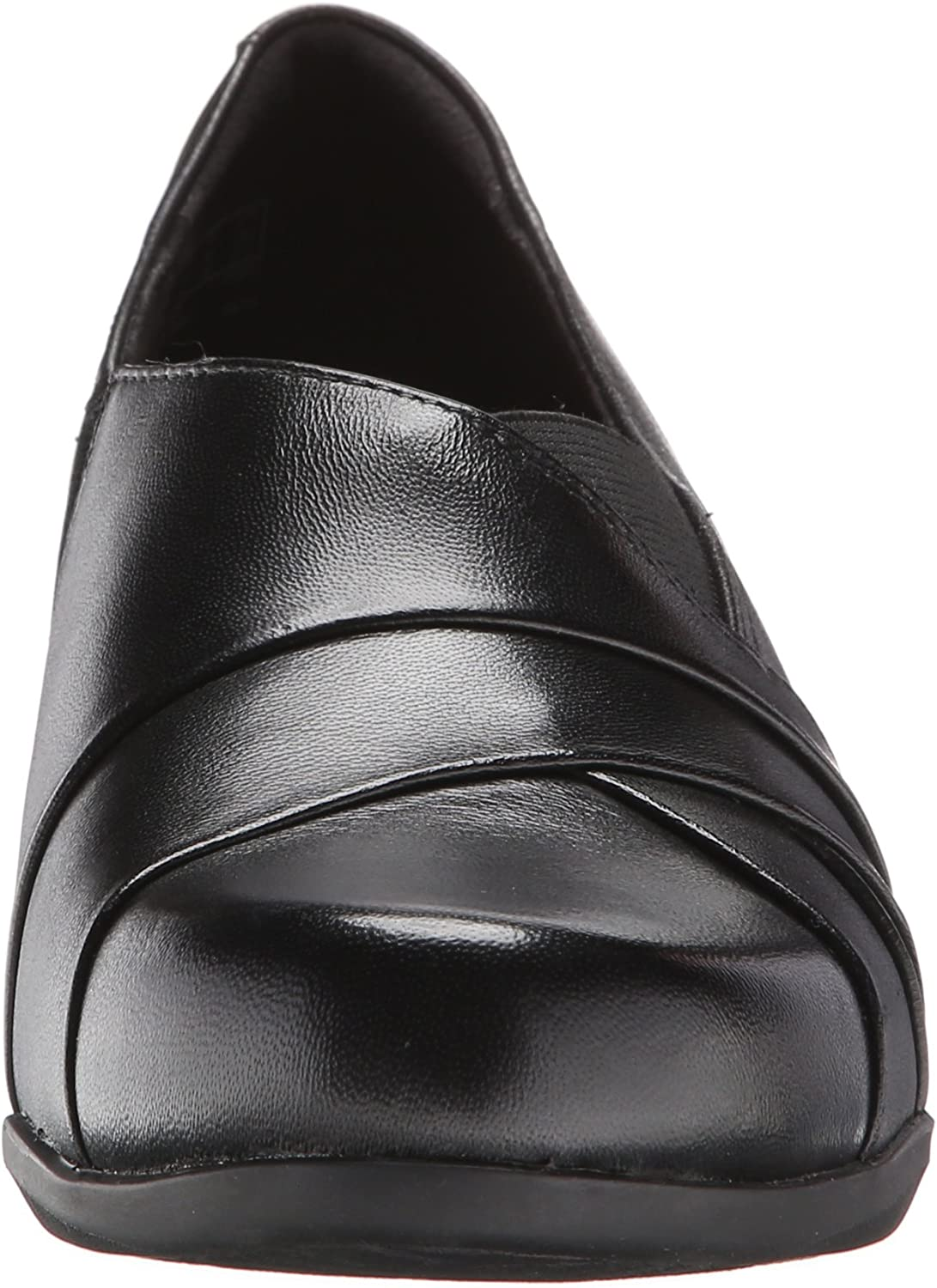 Clarks Rosalyn Adele Cuir Noir 38 EU Black Leather