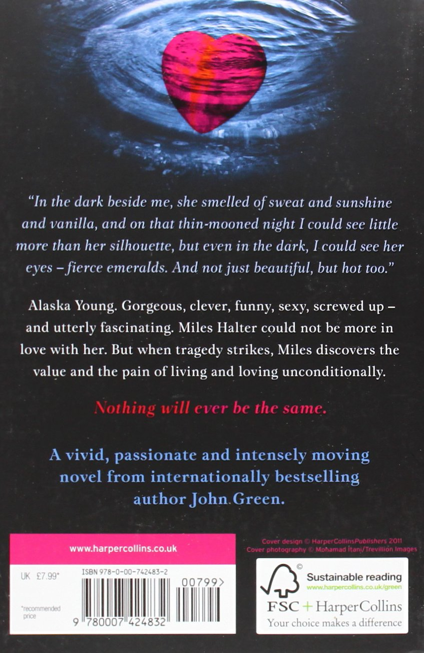 looking for alaska notes Looking for alaska study guide contains a biography of john green, literature essays, quiz questions, major themes, characters, and a full summary and analysis.