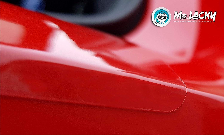 160/µm ab BJ 2015 in 3D Carbon schwarz MisterLacky Lackschutzfolie mit Rakel als Ladekantenschutz Folie passend f/ür Jaguar XF Typ X260