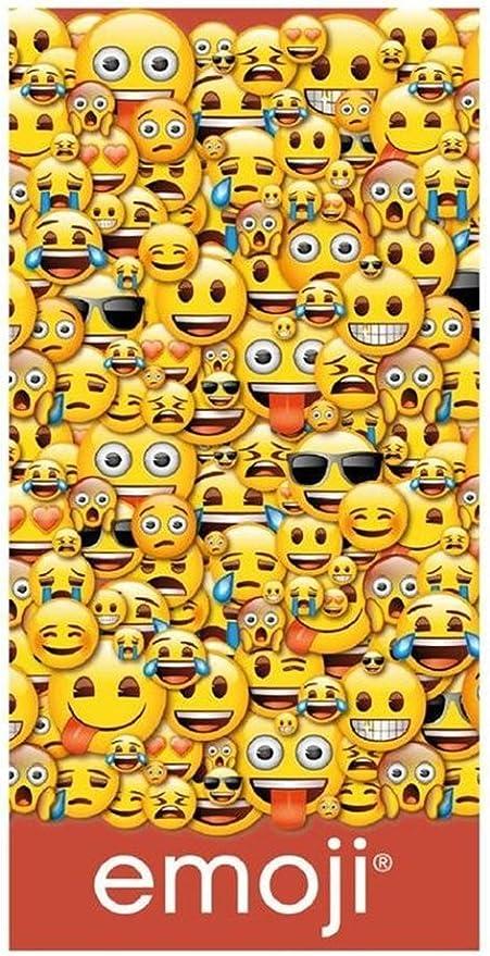 Toalla playa Emoji de algodón: Amazon.es: Hogar
