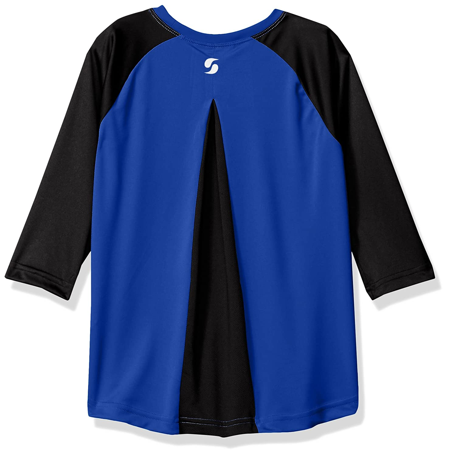 Soffe Girls Big Baseball Raglan W Mesh