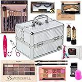 Maleta com kit de maquiagem para olhos Ruby Rose - CP004