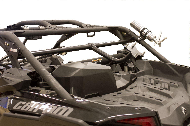 Dragonfire RacePace Black Bed Mounted Spare Tire Carrier Rack Maverick