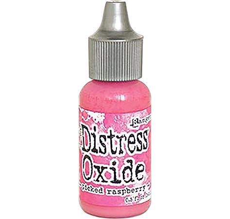 Rosa Ranger Picked Raspberry Distress re-Inker de /óxido Material sint/ético 2,5/x 2,5/x 7,2/cm