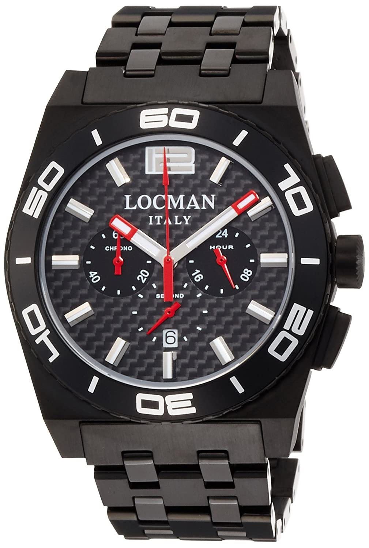 [ロックマン]LOCMAN 腕時計 STEALTH Mare 0212BKKA-CBKBRK メンズ 【正規輸入品】 B014H3QZUY