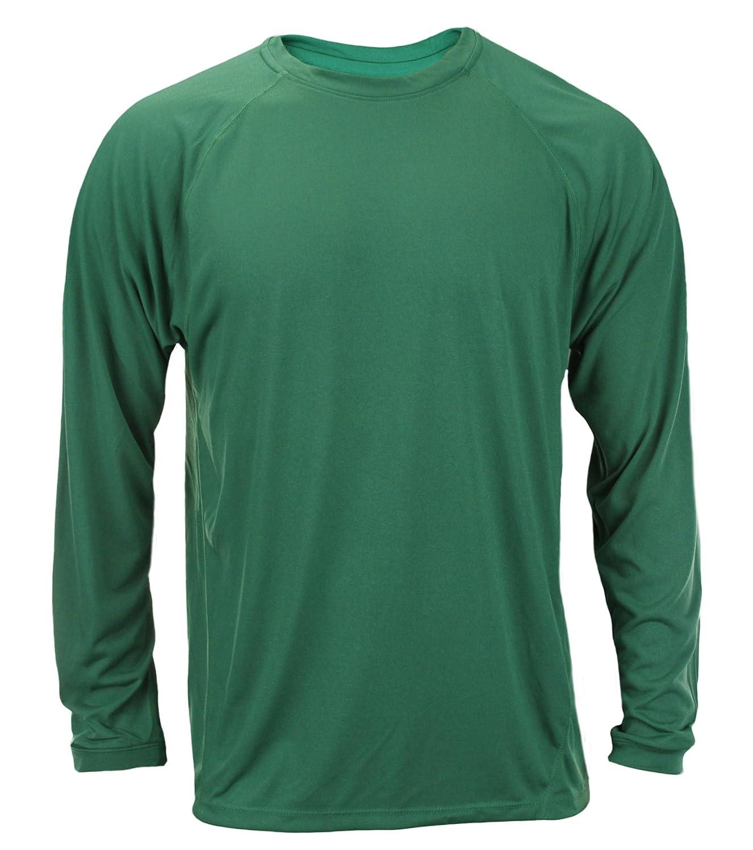 8cf916688 adidas Big Mens Long Sleeve Climalite Shirt, Green at Amazon Men's Clothing  store: