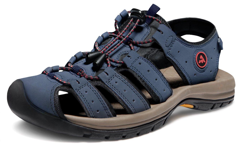 ATIKA AT-M130-NV_Men 7 D(M) Men's Sport Sandals Trail Outdoor Water Shoes M130 Cairo Orbital