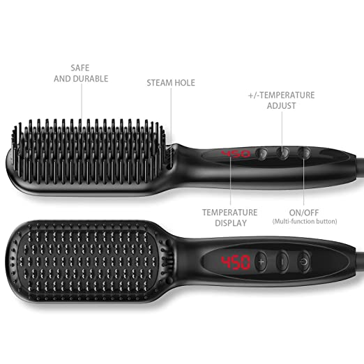 Amazon.com: Beard Straightener for Men - Professional Quick ...