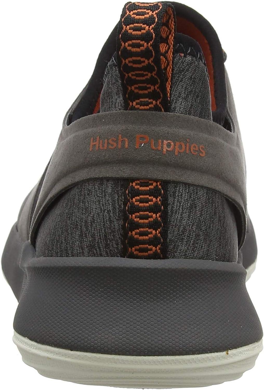 Hush Puppies Geo, Baskets Homme Gris Dark Grey Heather Dark Grey Heather