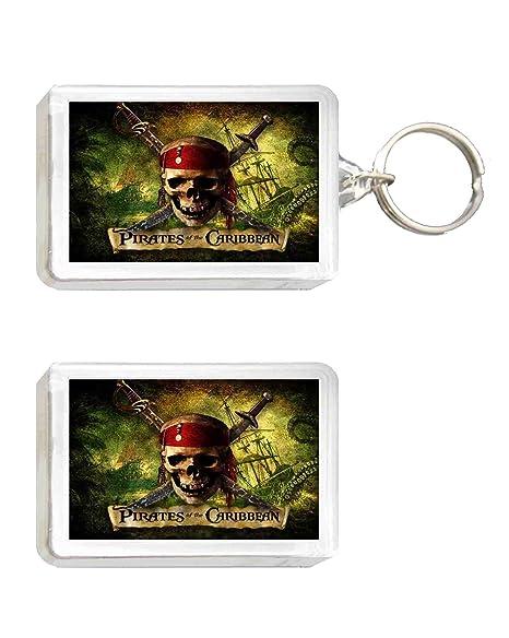 Llavero y Imán pirata caribeño: Amazon.es: Juguetes y juegos