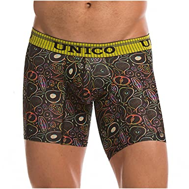 Mundo Unico Colombian Underwear for Men Microfiber Medium Boxers Briefs Low Rise Print Calzoncillos para Hombre