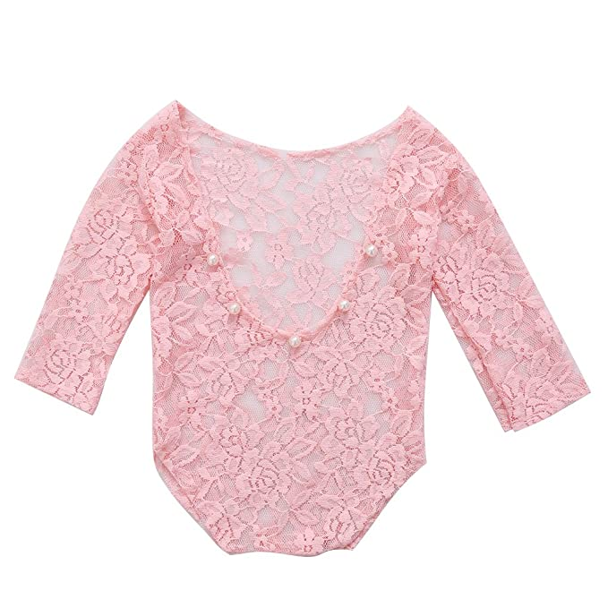 a1f062ecae4 cici store Baby Girl Lace Romper Bodysuit Photography Photo Props ...