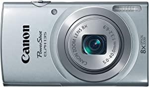 Canon PowerShot ELPH135 Digital Camera (Silver) (Discontinued by Manufacturer)