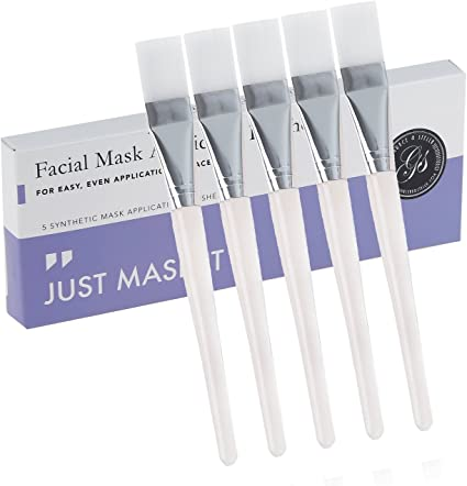 brosses de masque facial