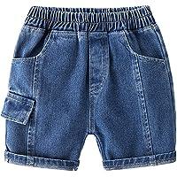 Morubut Toddler Baby Boys Denim Shorts Summer Casual Cargo Shorts