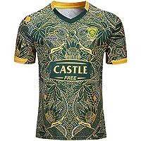 Mempire Zuid-Afrika Rugby Jersey Rugby Shirts voor Mannen Regular Fit Sportkleding