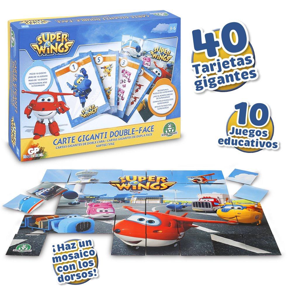 Superwings - Tarjetas Gigantes 2 Caras (Giochi Preziosi ...