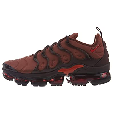 sale retailer 66b3e c8750 Nike Women s W Air Vapormax Plus Fitness Shoes, Multicolour (Burnt  Orange Habanero Red