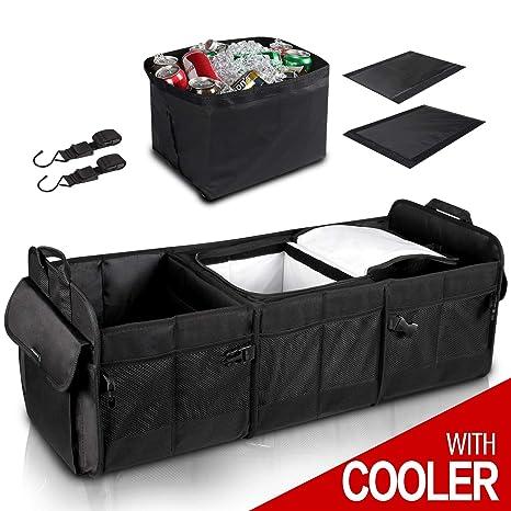 Amazon.com: GEEDAR - Organizador de maletero con ...