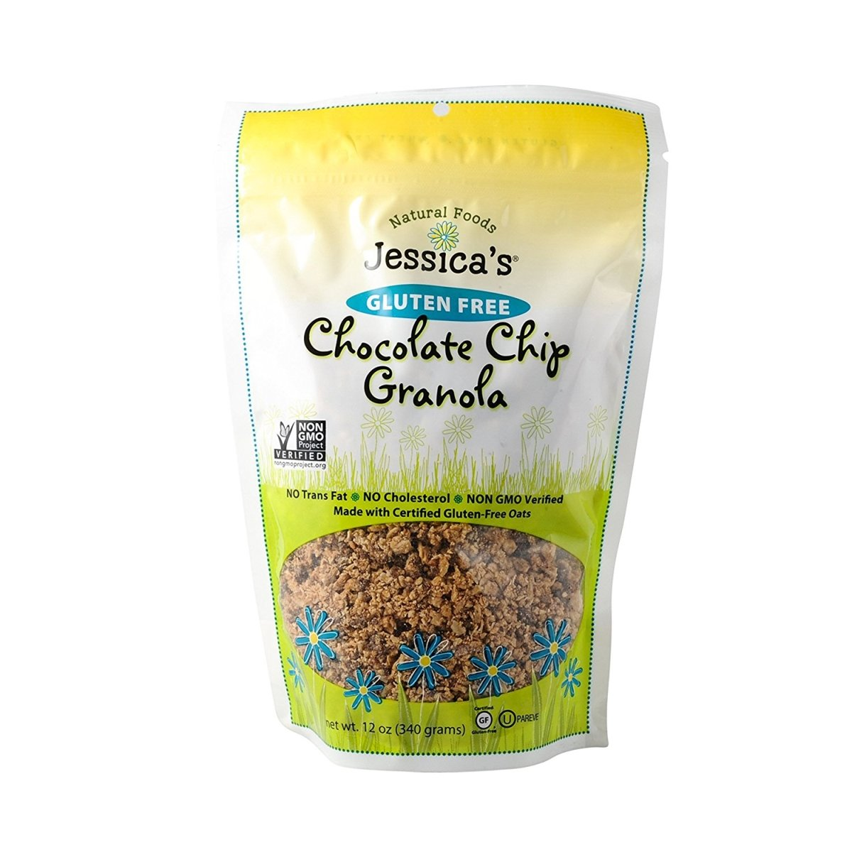 Jessica's Natural Foods Granola - Chocolate Chip - Case of 12 - 12 oz. by Jessica's Natural Foods
