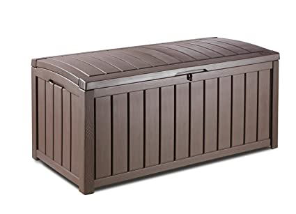 Amazon.com: Keter Glenwood Caja plástica contenedora ...