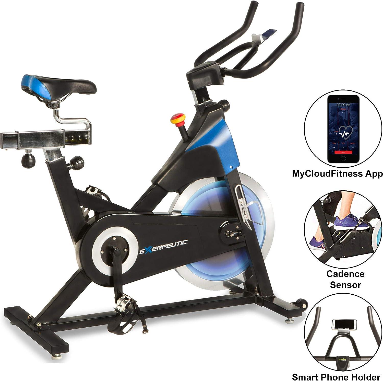 Exerpeutic LX 8.5 Bicicleta de ejercicio para interiores con ...