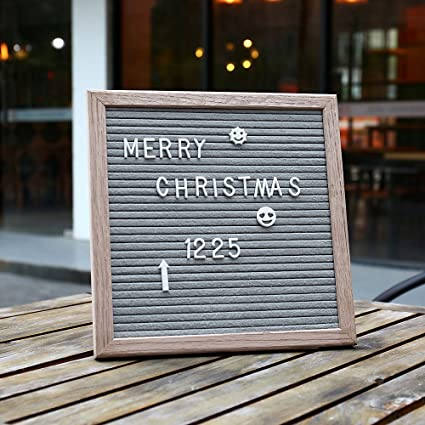 Amazon Com Letter Board 10 X 10 Changeable Felt Letter Boards