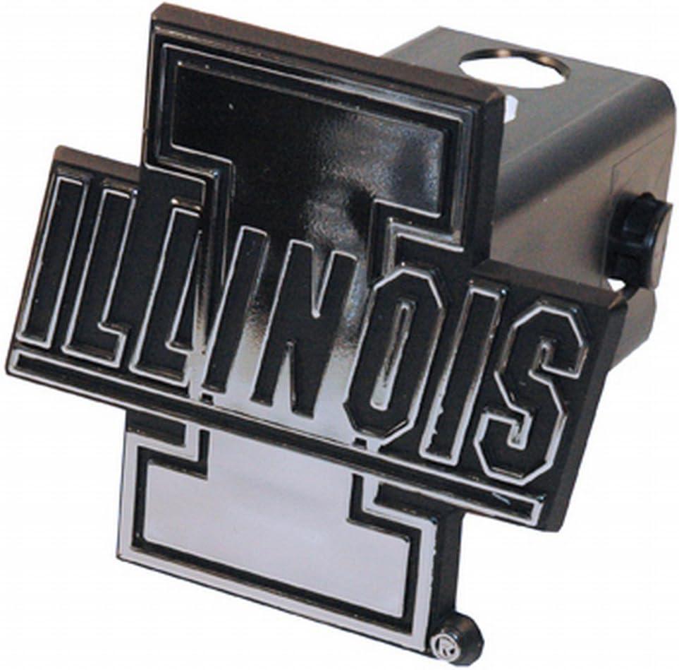 NCAA Illinois Fighting Illini Trailer Hitch Cover