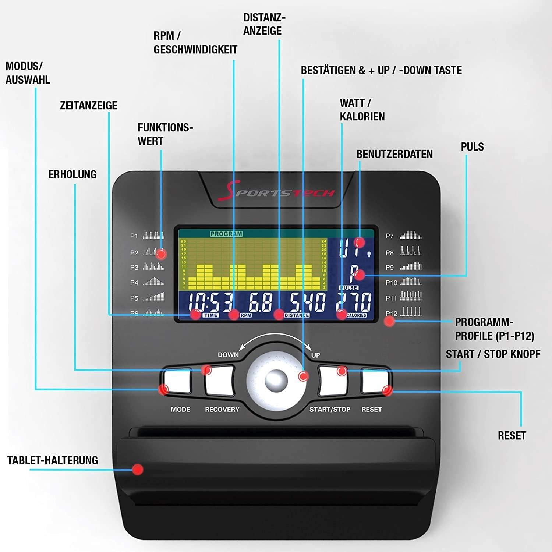 SPORTSTECH ESX500 - Trainingscomputer