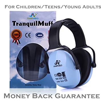 939214c93e9 Hearing Protection Earmuff/Headphone for Toddler, Kids, Teen, Young Adult.  Amplim