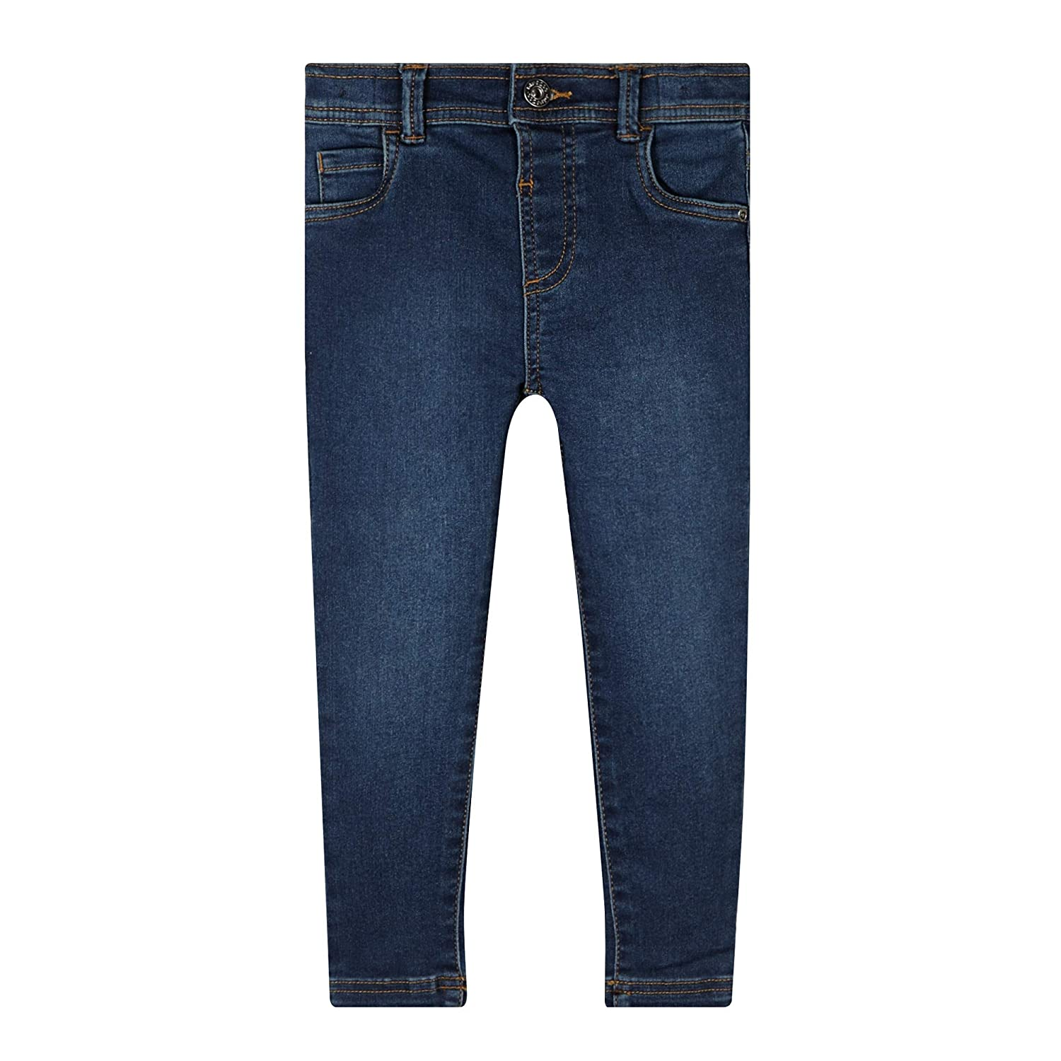 bluezoo Girls Dark Blue Skinny Fit Jeans Age 1-6 Years