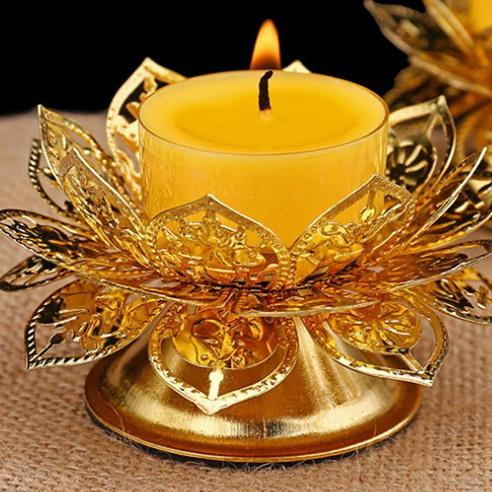 Yunqir Candlestick Modern/Contemporary Iron Candle Holders Candlestick Candlestick Decorated Table Centre Christmas Decoration Candelabra