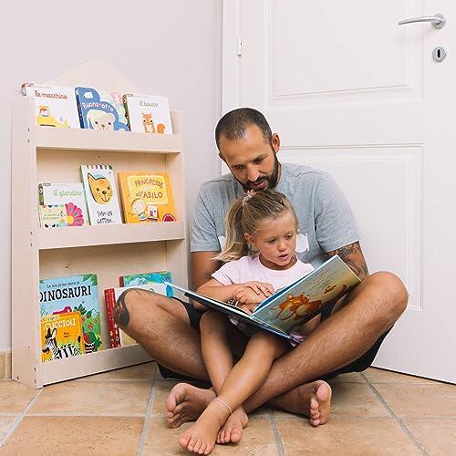 WERBUNG – Dotty, das schmale Kinder Bücherregal