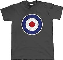 vectorbomb Mod RAF, Mens T-Shirt
