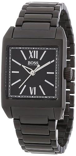 Hugo Boss 1502236 - Reloj analógico de mujer de cuarzo con correa de acero inoxidable negra: Amazon.es: Relojes