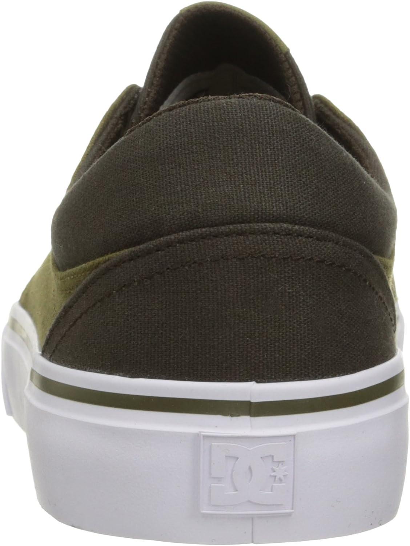 DC Shoes Trase Tx, Baskets mode homme Dk Choc Militaire