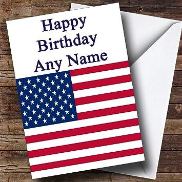 Geburtstagskarte usa
