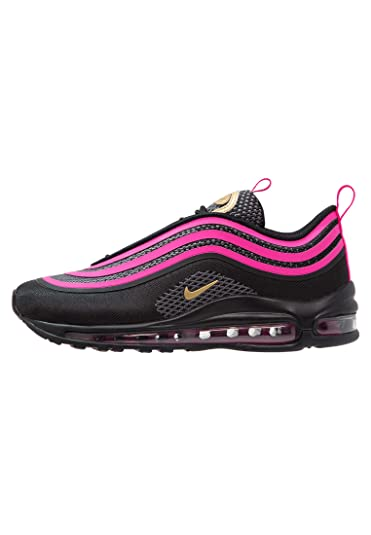 new arrival 4c380 6e69c Nike Girls Air Max 97 Ultra  17 (GS) Shoe Black Metallic Gold