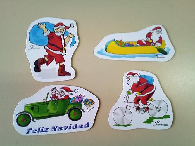 Set de imanes decorativos con diseños navideños, perfectos ...