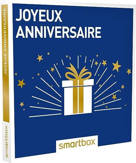 1 s/éjour ou 1 activit/é pour 1 ou 2 personnes SMARTBOX Coffret cadeau Joyeux anniversaire id/ée cadeau 18 ans
